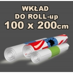 Wkład do Roll-up 100x200