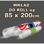 Wkład do Roll-up 85x200